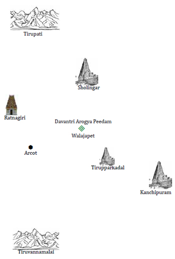 Geographical View for Danvantri Temple