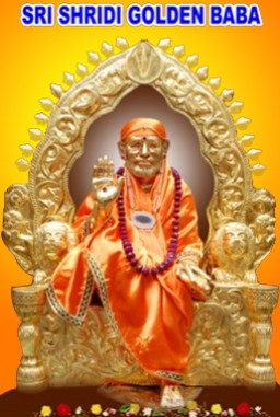 Sri Golden Shridi Sai Baba