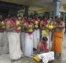 Gandharvaraja Homam