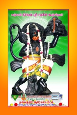 Sri Sanjeevi Anjaneyar 9 Feet